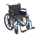 Drive Medical Blue Streak Wheelchair for rent